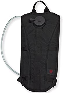 Tacprogear H2O On the Go Hydration Pack, Black, 3-Liter