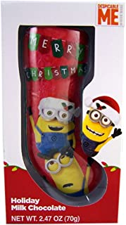 Despicable Me Minions Christmas Hollow Milk Chocolate Stocking, 2.47 oz