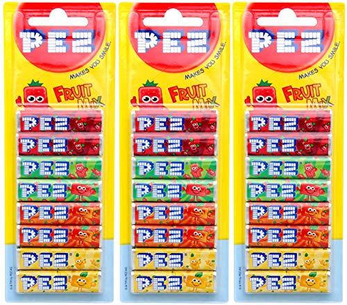 PEZ Nachfüllpackung Fruit Mix 8er x 3
