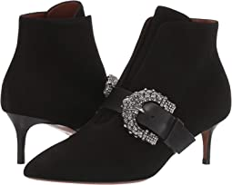 Heeled Buckle Boot