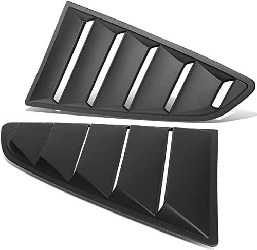 Replacement for Ford Mustang Coupe 2Pcs Vintage Style Rear Quarter Side Window Louver Sun Shade Cover