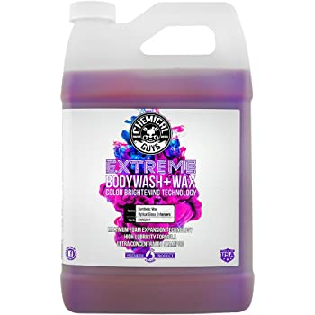 Chemical Guys CWS207 Extreme Body Wash & Wax (1 Gal), 128 fl. oz, 1 Pack