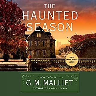 The Haunted Season audiobook cover art