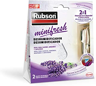 Rubson Minifresh, deshumidificador y ambientador de lavanda
