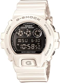 Casio G-Shock Japanese Quartz Watch with Resin Strap, White, 16 (Model: DW6900NB-7)