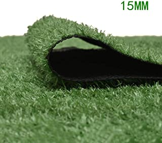XEWNEG 15MM Garden Artificial Turf Grass Carpet Indoor/Wedding/Kindergarten Decoration, Breathable And Easy To Clean (Size...