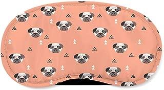 Geometric Pugs Sleeping Mask - Sleeping Mask