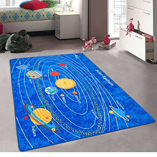 Kids/Baby Room/Daycare/Classroom/Playroom Area Rug. Solar System....