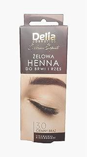 Delia Cameleo Eyebrow Tint CREAM, Dark Brown 3.0