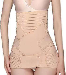 Woaills Lingerie Body Shaper for Women, Wowen 3 in 1 Recovery Belly Wrap Waist/Pelvis Belt Shaper Postnatal Shapewear