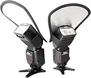 FotoTechフラッシュディフューザーソフトボックス反射板、フラッシュ、スピードライト、Nikon SB - 500、SB - 600, SB - 700, SB - 800, SB - 900, SB - 910, Canonスピードライト90ex、270ex、270ex II、320ex、380ex、430ex , II , 550ex , 580ex , II , 600ex-rt , Vivitaフラッシュ, Sunpack , Sunpak , Nissin、Sigma、Sony、Pentax、Olympus、Panasonic Lumix DMC -が点滅with FotoTechベルベットバッグ