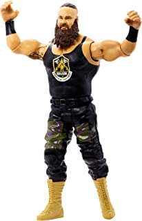 WWE Braun Strowman Action Figure Series 115 Action Figure Posable 6 in Collectible for Ages 6 Years Old and Up