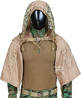 ROCOTACTICAL Tactical Sniper Top Ghillie Base Airsoft Hunting Ghillie Suit Foundation