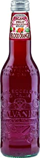 Galvanina - Blood Orange With Pulp - Premium Organic Italian Sparkling Fruit Beverage - 12 fl oz (12 Glass Bottles)