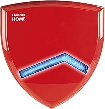 Xavax FeelSafe Outdoor sirene voor draadloze alarminstallatie (buitenalarm met flitslicht, uitbreiding tot het FeelSafe Sy...