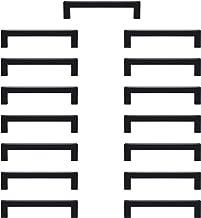 Sturdyy keukengrepen zwart handgrepen meubels 15 stuks roestvrij staal gat afstand 128mm gat installatie voor keukenkasten...