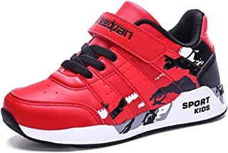 LGXH Comfortable Breathable Boys Girls Running Tennis Shoes Waterproof Students Casual Athletic Sneakers