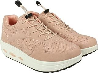Flat n Heels Womens Pink Sneaker FnH 998-05-PK