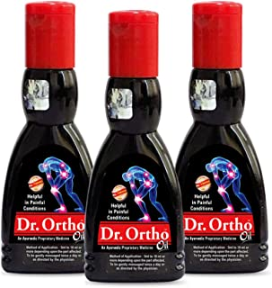 Dr. Ortho Pain Relief Oil, 60ml (Pack of 3)