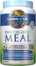 Garden of Life Raw Organic Meal Replacement Powder - Vanilla, 28 Servings, 20g Plant Based Protein Powder, Superfoods, Gre...