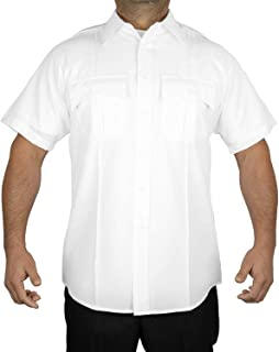 mens white uniform shirt