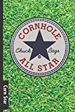 Corn Star: Cornhole score card / tracker - 70 page score card for Corn hole - backyard games and tailgate party score log book. never forget who won again!