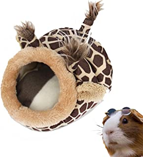 PULEIDI Guinea Pig Bed - Washable Guinea Pig Cage Accessories Small Animal Bed Hideout for Guinea Pig,Chinchilla,Hamsters,Hedgehog
