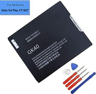 Li-Polymer New Replacement Battery GK40 SNN5967A Compatible with Motorola Cedric Moto E3, Moto E4, Moto G4 Play, Moto G5,XT1601 XT1603 XT1675 (GK40)
