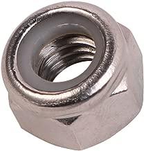 1/2-13 Nylon Insert Hex Lock Nuts, Stainless Steel 18-8, 25 PCS