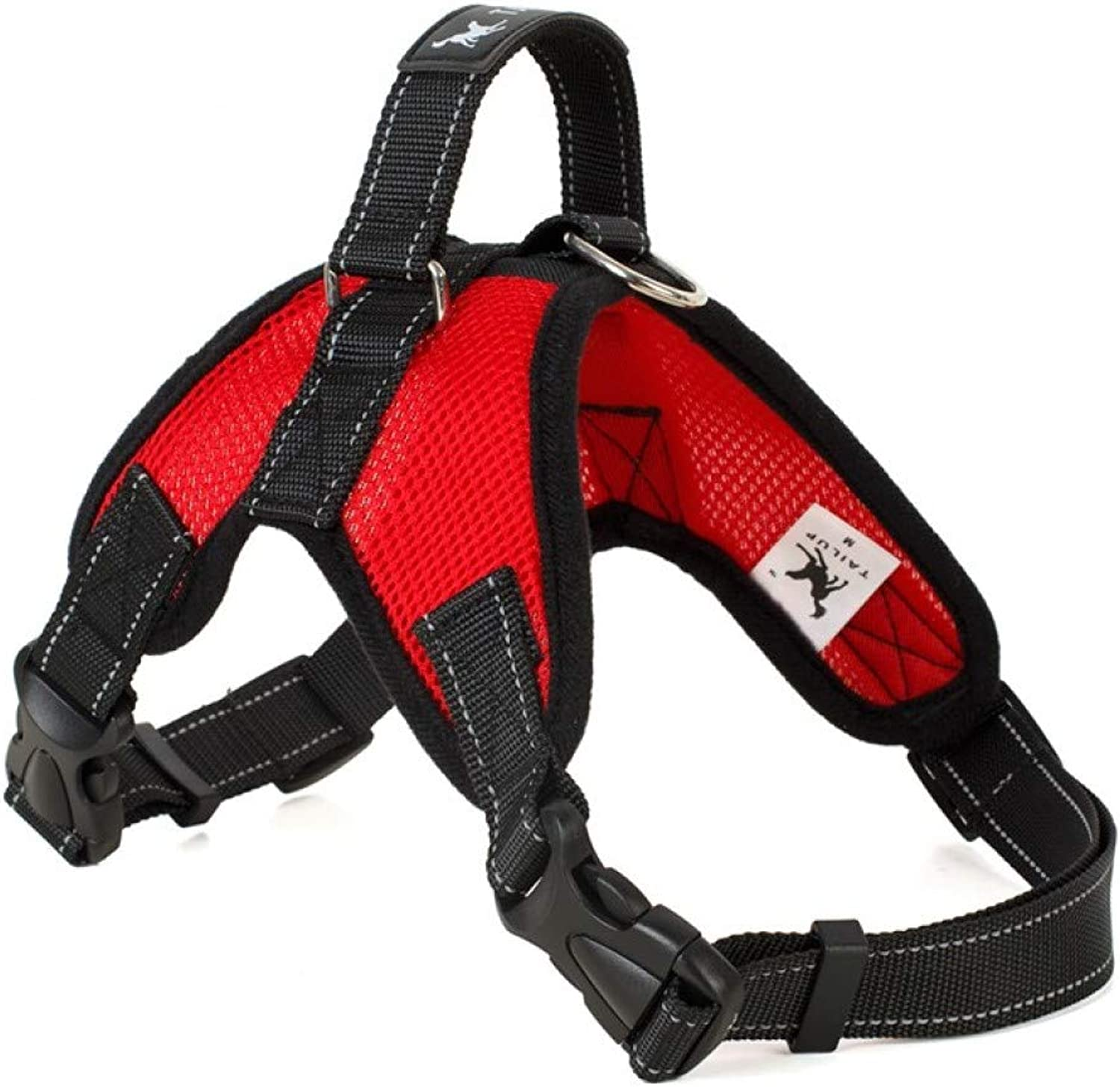 Dog Chest Strap with PullProof Pet Chest Strap Adjustable Outdoor Dog Vest Large