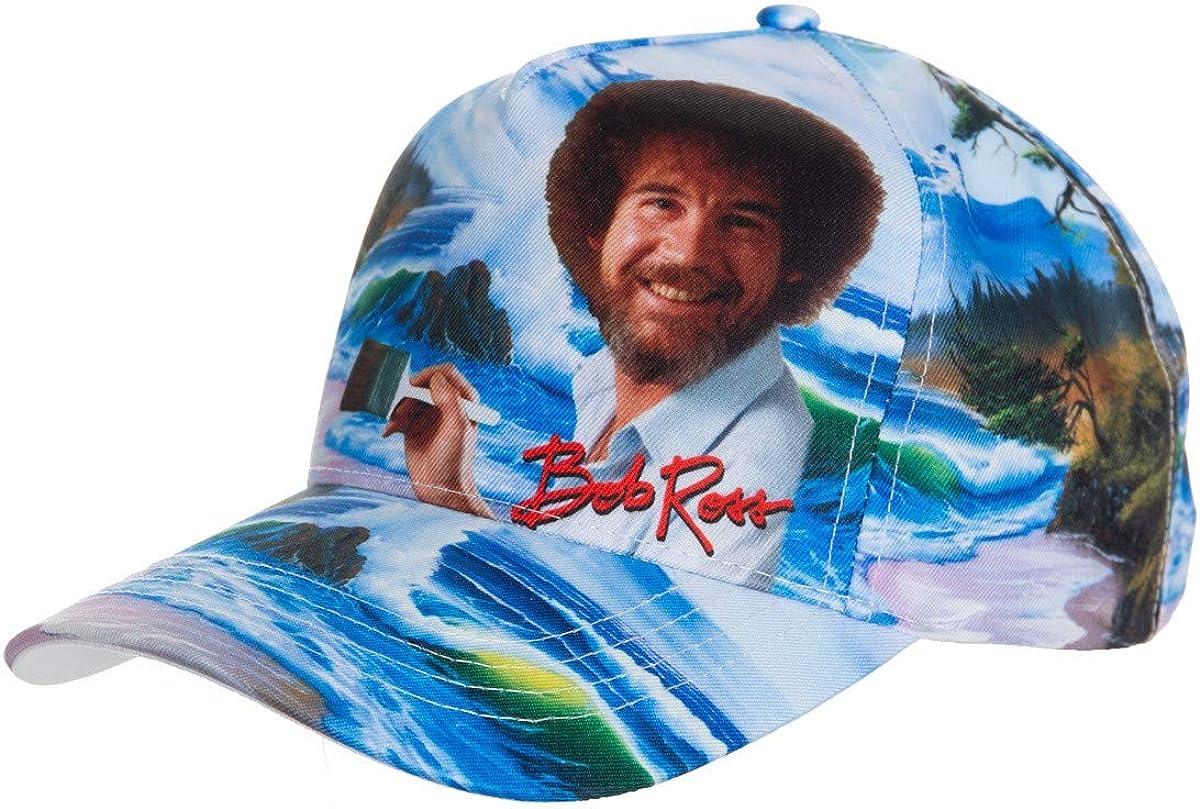 Calhoun Officially Licensed Bob Ross Mountain by The Sea Multicolour Ball Cap