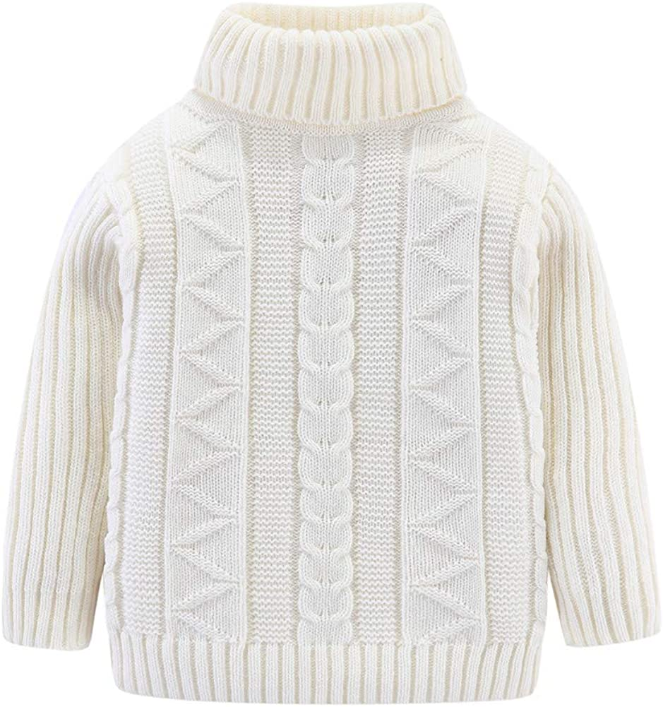 Mud Kingdom Quality inspection Kids Sweaters Turtleneck Lightweight Unisex NEW before selling
