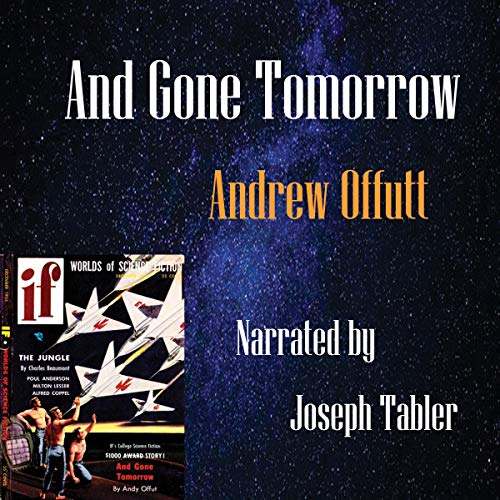 And Gone Tomorrow audiobook cover art