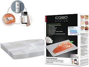 CASO professionele foliezak 30 x 40 cm / 50 zakjes, voor alle vacuümverpakkers, BPA-vrij, zeer sterk en scheurvast, ca. 15...