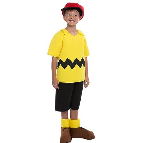 Peanuts: Deluxe Charlie Brown Kids Costume