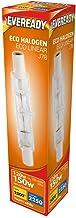 240v 120w (150w) Energy Saving Tungsten Halogen R7s Light Bulb 78mm 240v (Eveready S10112)
