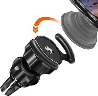 車用マウントPopソケットユーザー–fitfort 360°回転Air Vent Popスタンド車マウント調整可能スイッチロック付きfor GPSナビゲーションとピックアップトラックFits iPhone X / 8、SAMSUNG GALAXY NOTE 8/ s9