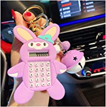 $28 » Calculator Gift Mini Calculator Cute Portable Pockets Key Chain Standard Function Calculator School Office Supplies for Ki...