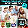 FurroLandia Hemp Calming Treats for Dogs - 170 Soft Chews - Made in Usa - Hemp Oil for Dogs - Dog Anxiety Relief - Natural Calming Aid - Stress - Fireworks - Aggressive Behavior (Peanut Butter Flavor) #4