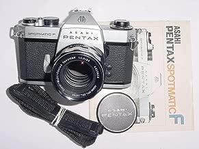 Asahi Pentax Spotmatic SLR Professional 35MM Film Camera Honeywell - Lens Bundle