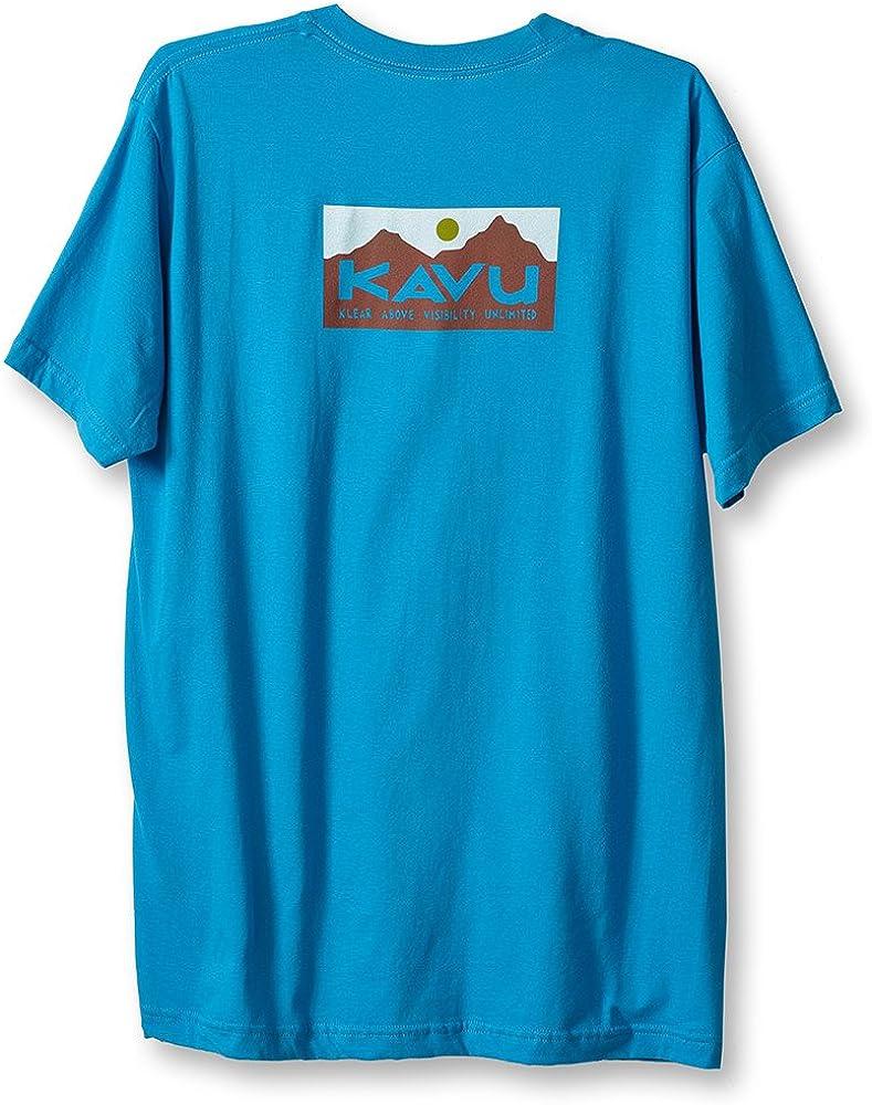 KAVU 至高 Klear Above T 並行輸入品 Cotton Shirt Organic Graphic