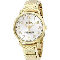 Coach 14502496 Women's Stainless Steel Bracelet Watch (Gold)