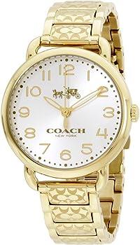 Coach Women's Stainless Steel Bracelet Watch
