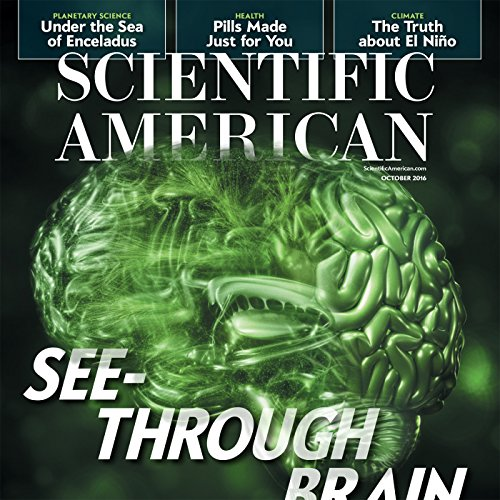 Scientific American, October 2016 audiobook cover art