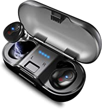 Wireless Earbuds, Faicy True Wireless Earbud Headphones, Mini in-Ear Headset Premium Sound IPX5 Waterproof Headphones with Built-in Mic, with 480mAH Battery Charging Case