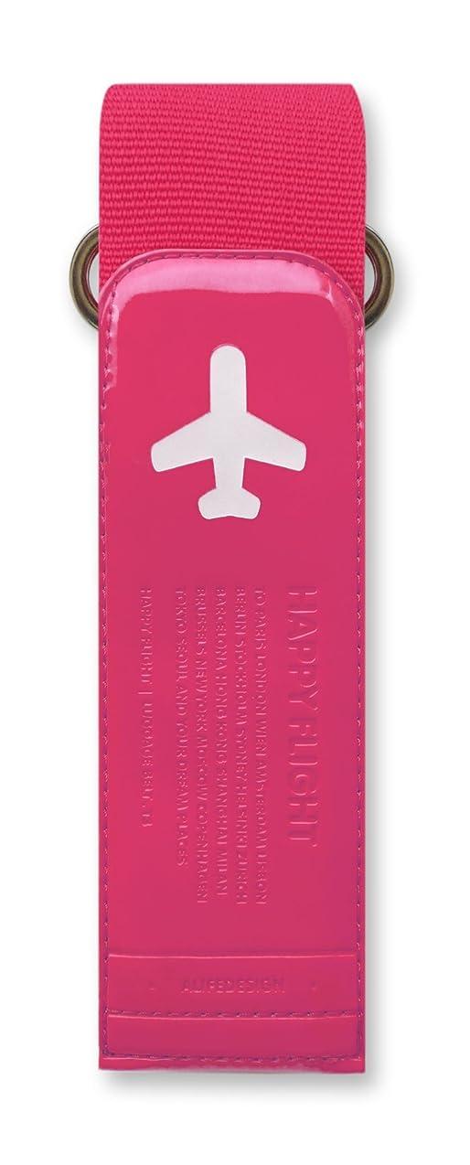 受信機ホストマーチャンダイジングALIFE(アリフ) HAPPY FLIGHT ラゲージベルト ローズ