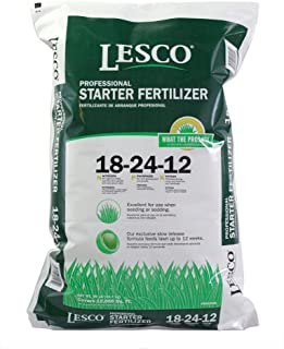 Lesco Professional, 50 LB, 12,000 SQFT Coverage, 18-24-12