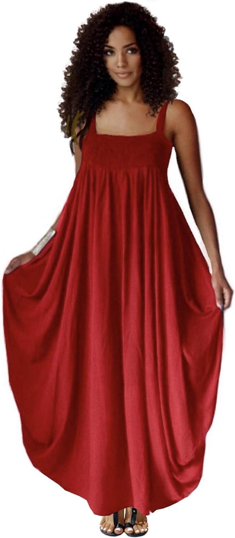 LOTUSTRADERS Women's Maxi 激安通販販売 Dress Sexy ◆高品質 Elastic Bo Straps Spaghetti