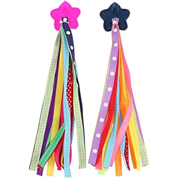 3 Pcs Tassel Ribbons Delicate Easy Attach Exquisite Scooter Handlebar Streamers