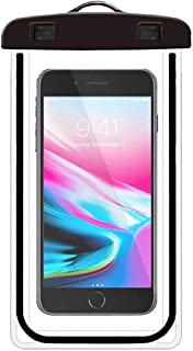 Funda Impermeable Universal, Funda Celular contra Agua Bolsa Transparente para iPhone 11 Pro Max/X/XS MAX/XR/8 Plus,Samsun...